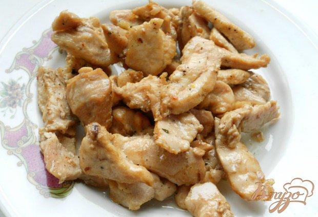 Рецепт Лепешки из картофеля с курицей и сыром