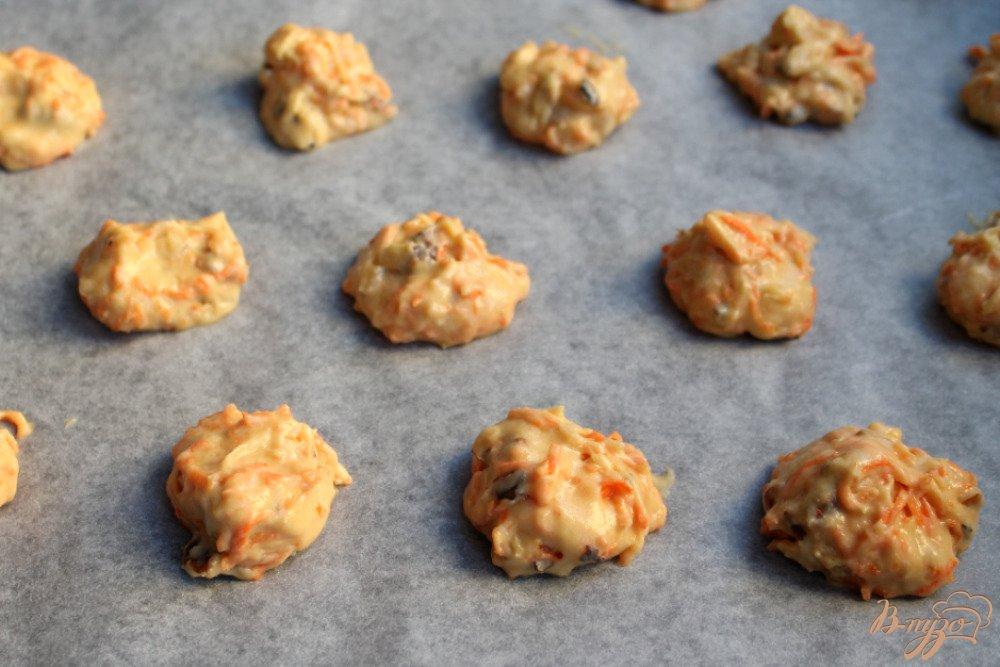 Фото приготовление рецепта: Морковное печенье шаг №6