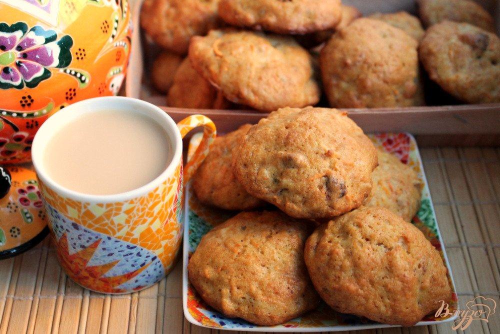 Фото приготовление рецепта: Морковное печенье шаг №7