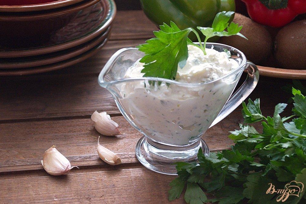 Фото приготовление рецепта: Универсальный соус к отварному мясу шаг №4