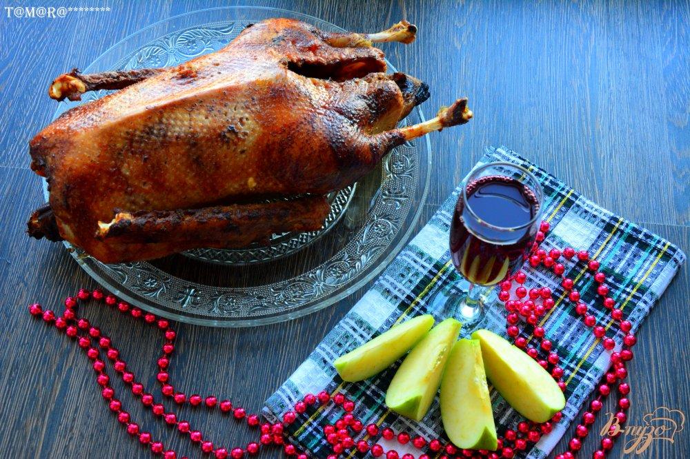 Фото приготовление рецепта: Гусь праздничный шаг №7