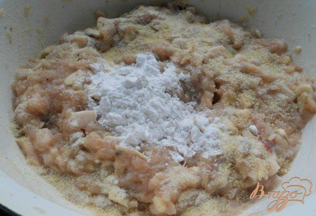 Колбаса куриная с грибами