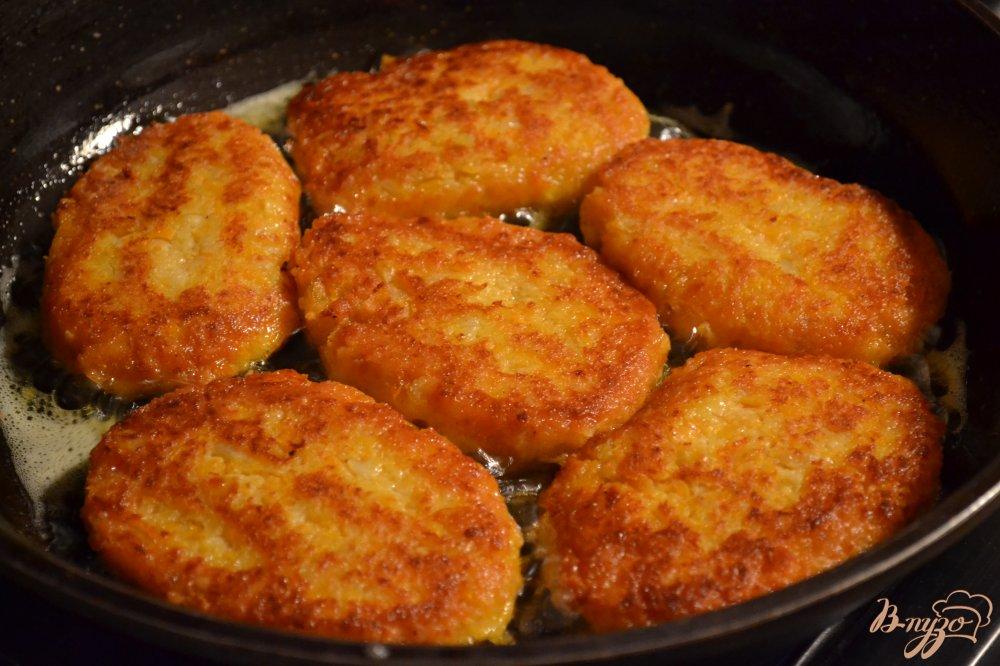 Мясные котлеты с тыквой рецепт