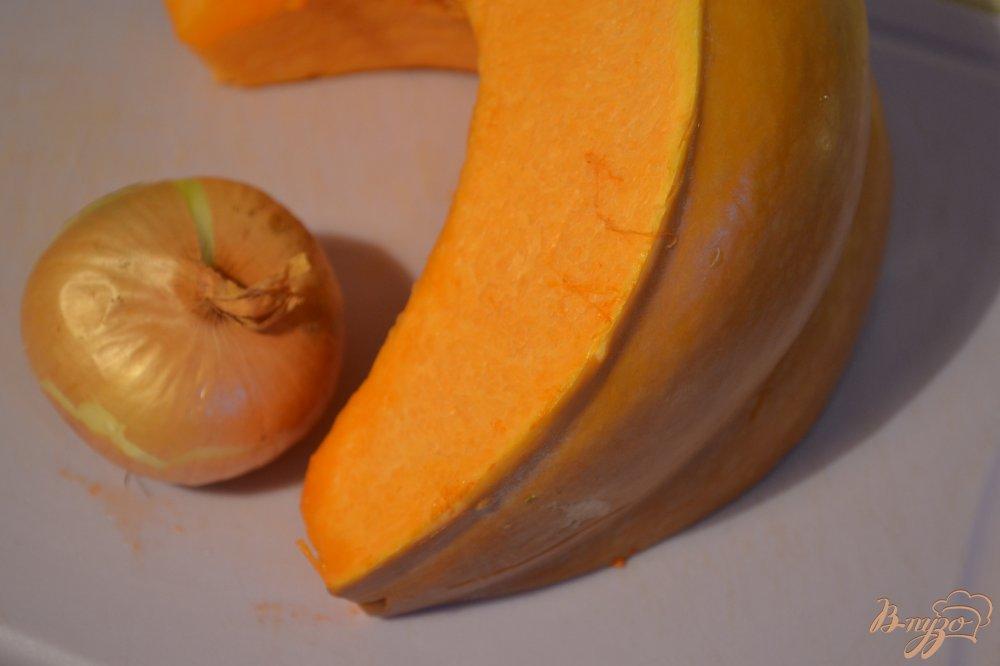 Фото приготовление рецепта: Котлеты из тыквы с нутом шаг №1