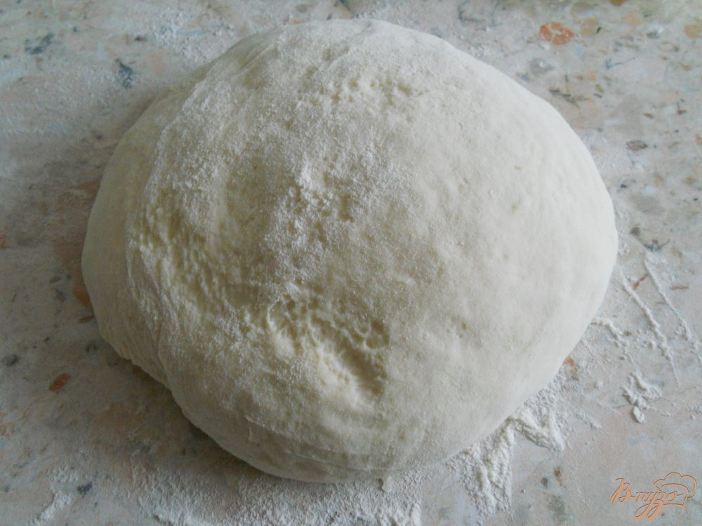 Фото приготовление рецепта: Хлеб с укропом и чесноком в хлебопечке шаг №3