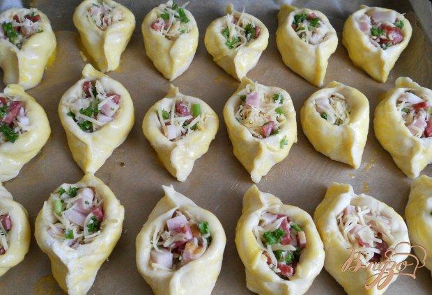 Пирожки «Погача» с колбасой и сыром