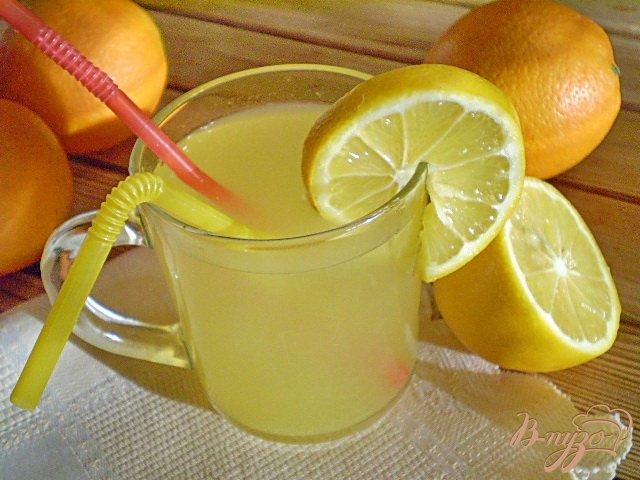 Фото приготовление рецепта: Лимонад детский шаг №5