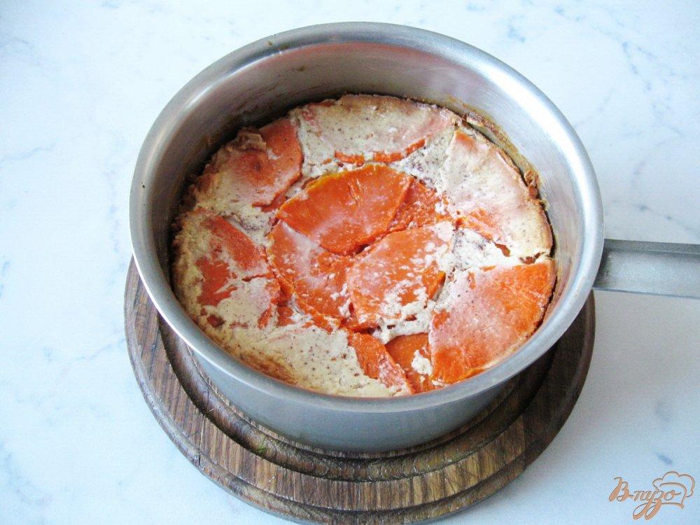 Фото приготовление рецепта: Рисовая запеканка с тыквой. шаг №8