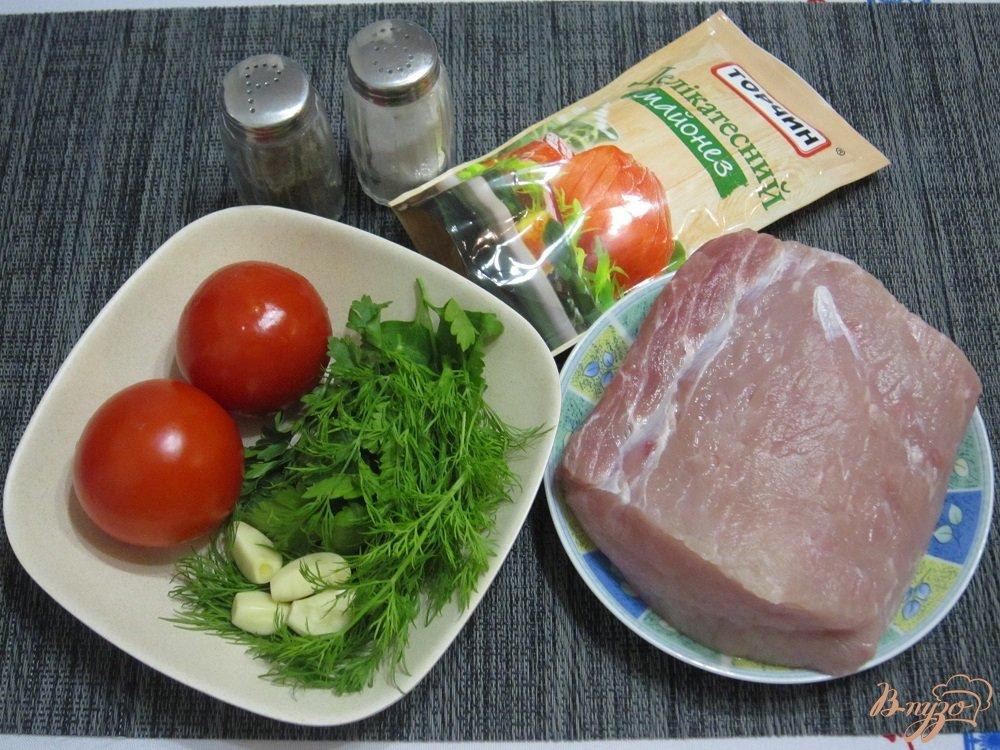 Фото приготовление рецепта: Свиные отбивные с овощами шаг №1