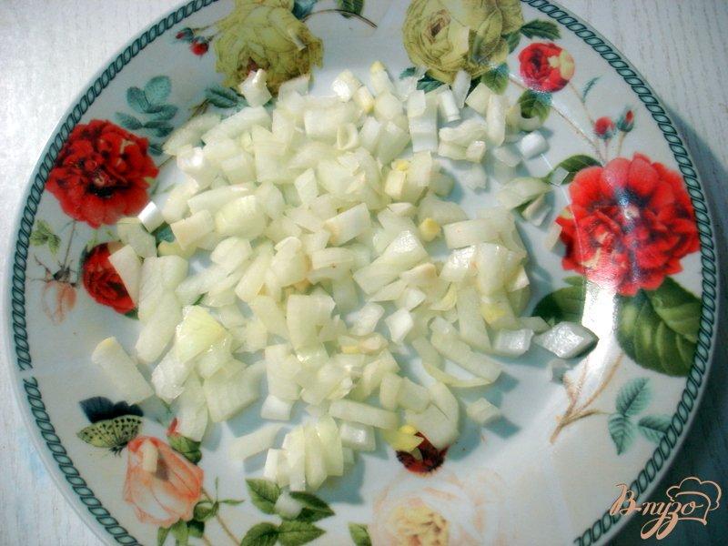 Фото приготовление рецепта: Запеканка мясо грибная шаг №6