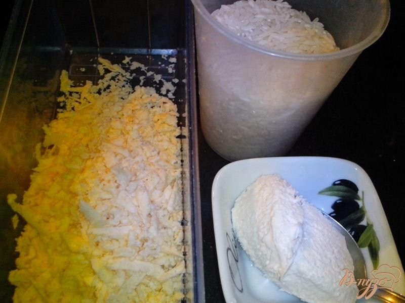Фото приготовление рецепта: Ризотто с курицей и овощами шаг №5