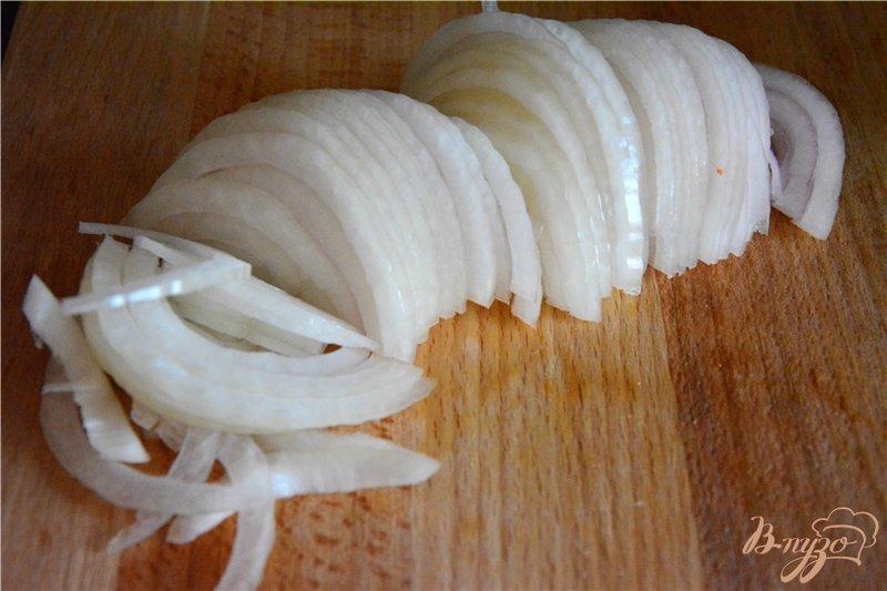 Фото приготовление рецепта: Веррины с овощами и куриной грудкой шаг №3