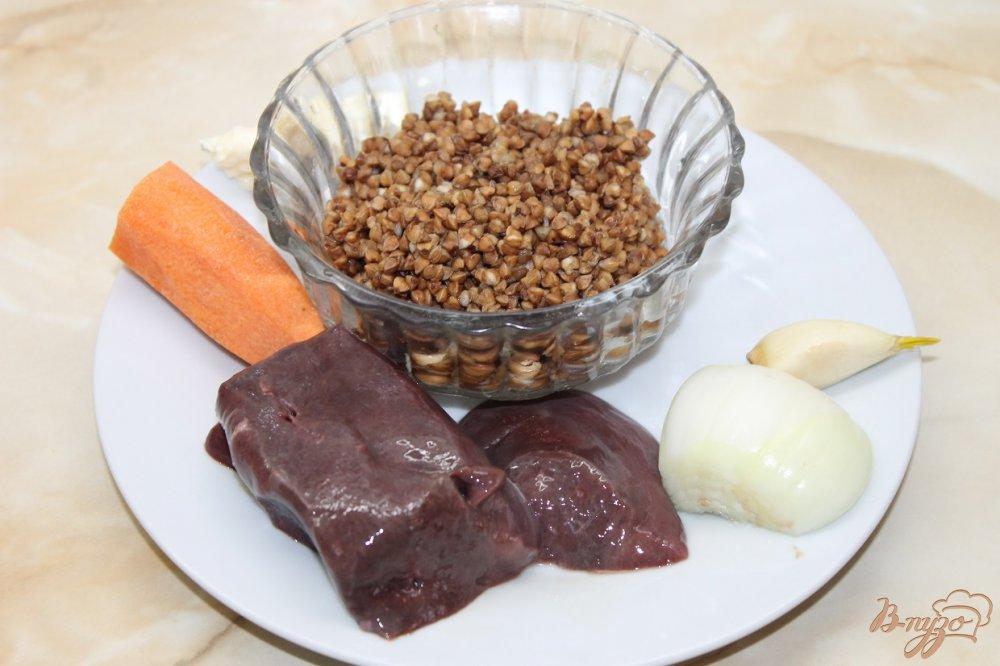 Фото приготовление рецепта: Гречка запеченная с свиной печенью в горшочке шаг №1