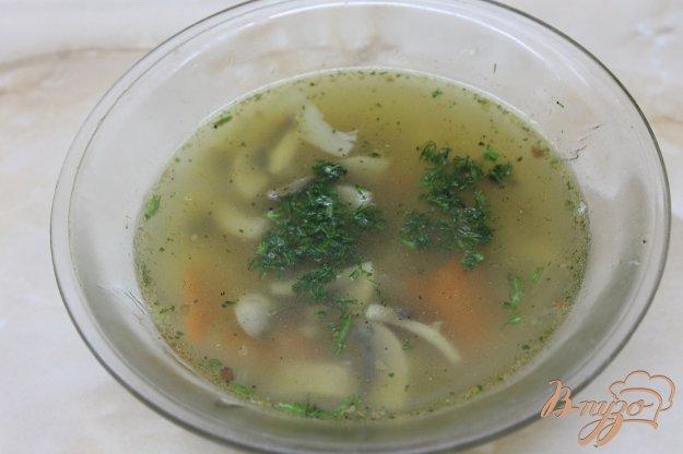 фото рецепта: Грибной суп с гречневой крупой