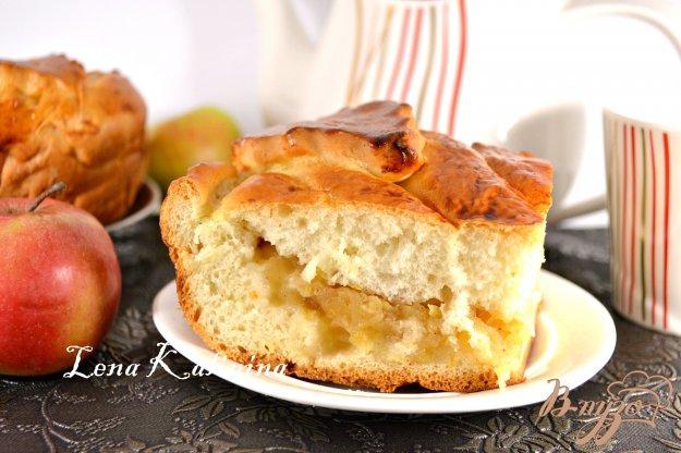 Яблочный пирог с дрожжами рецепт пошагово в духовке