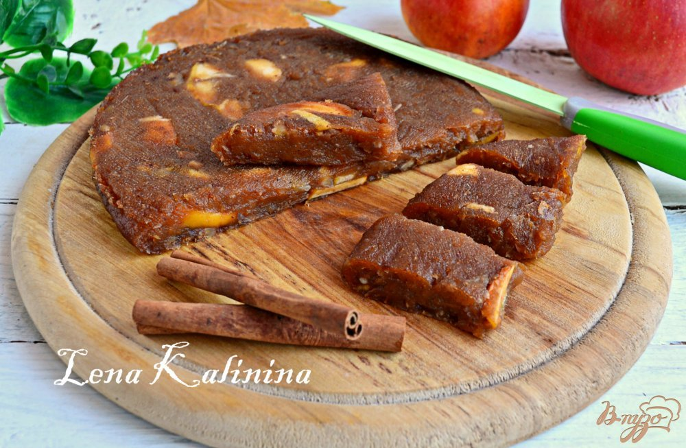 Фото приготовление рецепта: Яблочный сыр шаг №9
