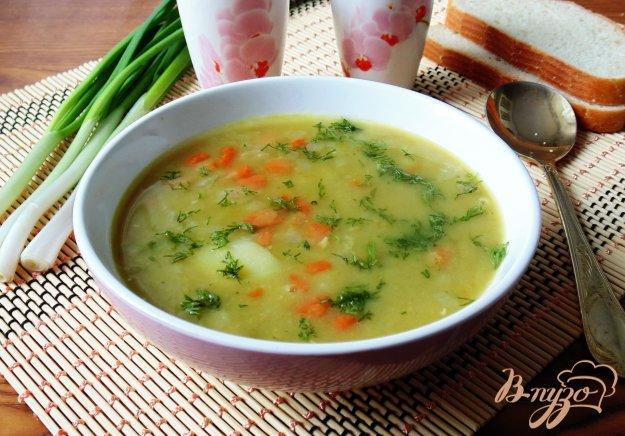 фото рецепта: Суп из сухого зеленого гороха