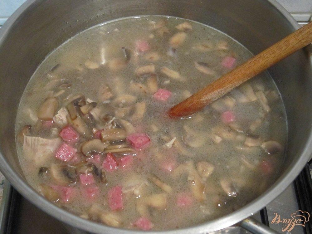 Фото приготовление рецепта: Суп по-итальянски шаг №5