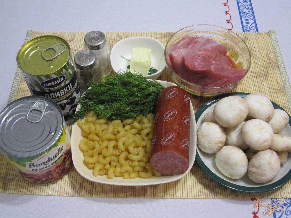 Фото приготовление рецепта: Суп по-итальянски шаг №1