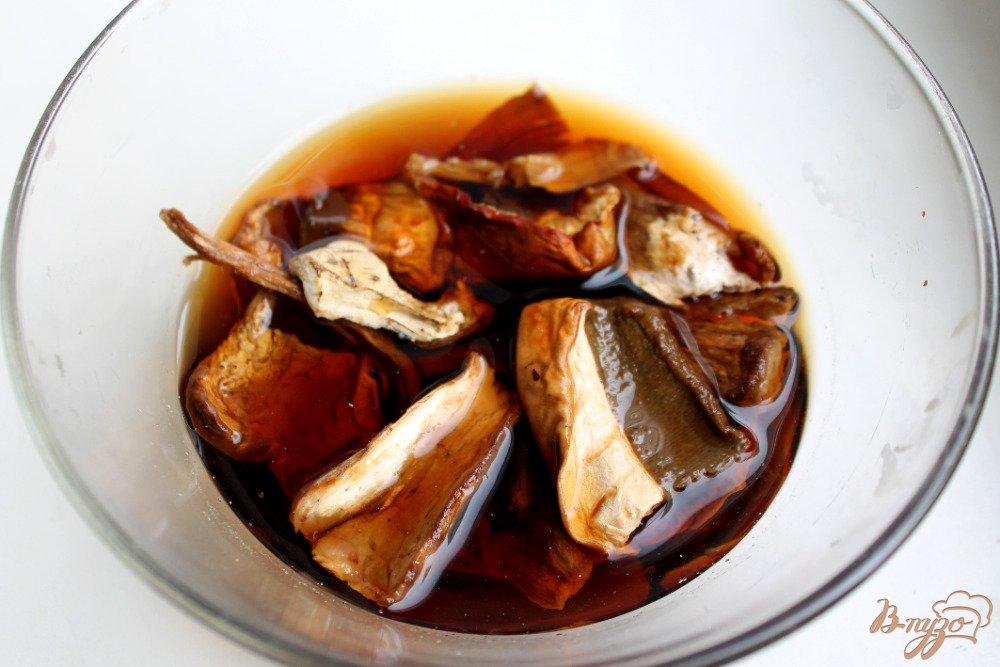 Фото приготовление рецепта: Блины с грибами и картофелем шаг №4