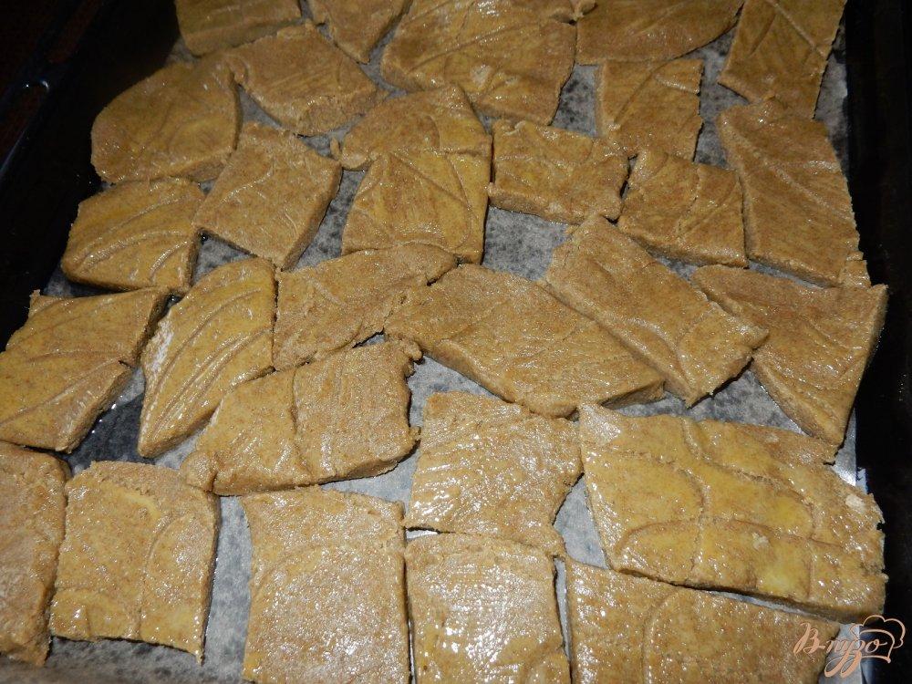 Фото приготовление рецепта: Печенье из ржаной муки шаг №5