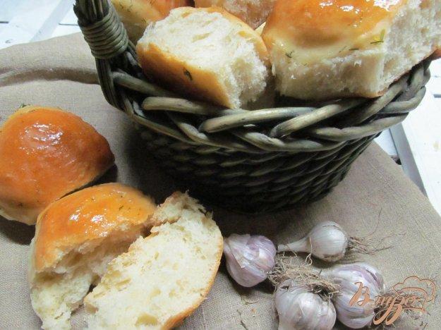 фото рецепта: Чесночные булочки