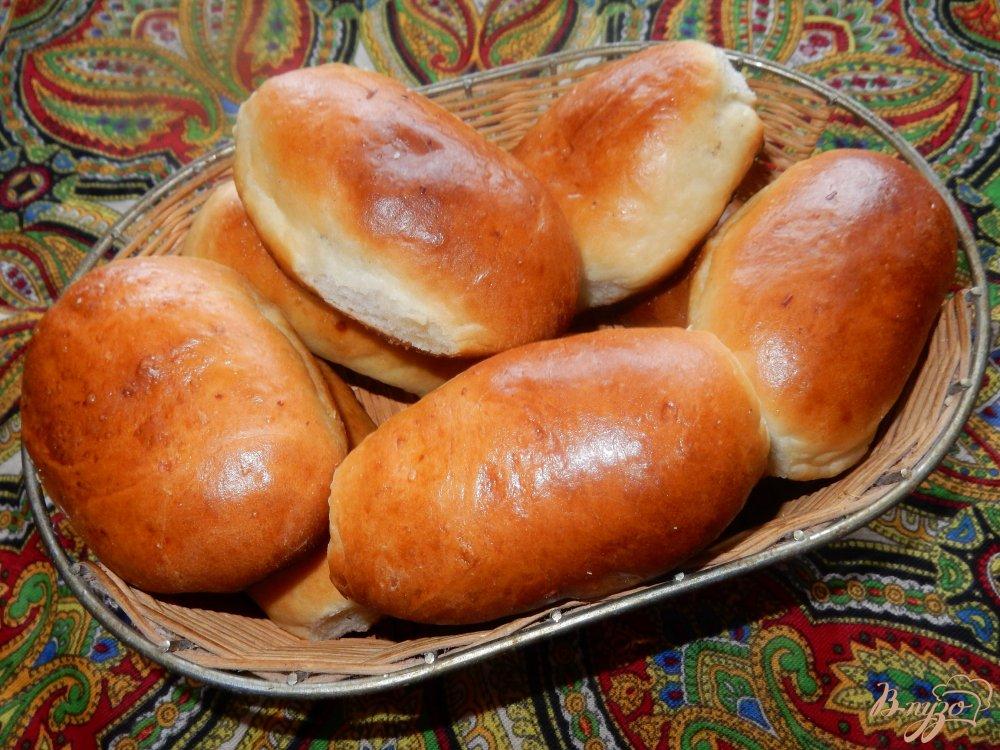 Фото приготовление рецепта: Пирожки с квашеной капустой шаг №11