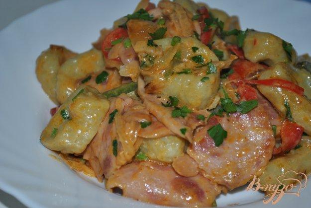 фото рецепта: Клецки из цветной капусты