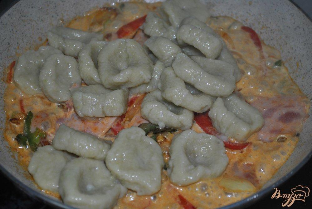 Фото приготовление рецепта: Клецки из цветной капусты шаг №14