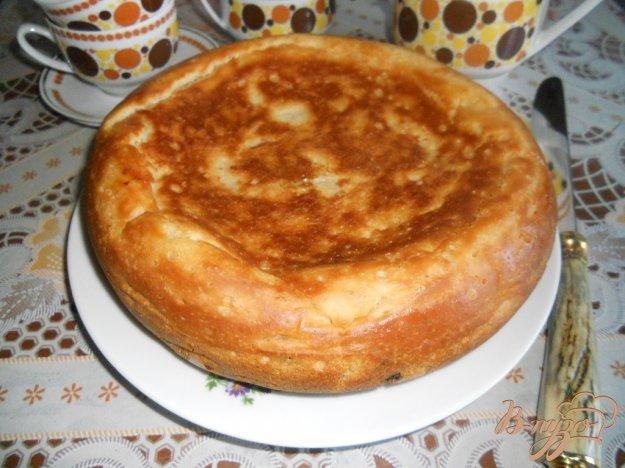 фото рецепта: Пирог с изюмом