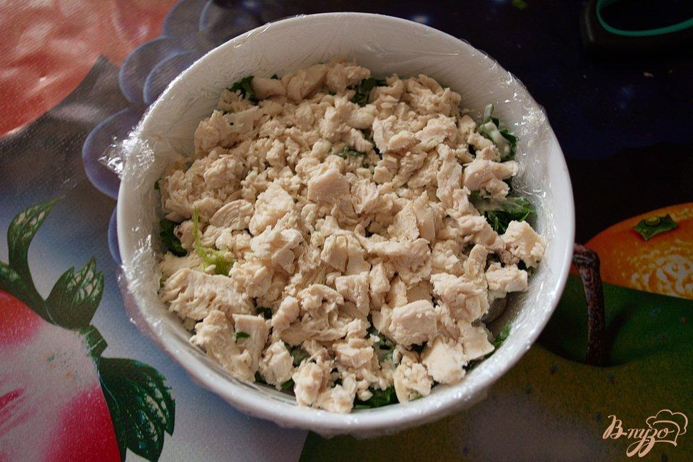 Салат лесная поляна с шампиньонами и корейской морковкой рецепт с