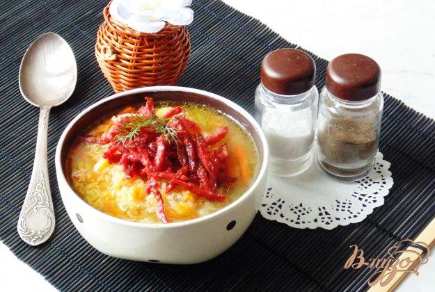 фото рецепта: Картофельный суп с квашенной капустой