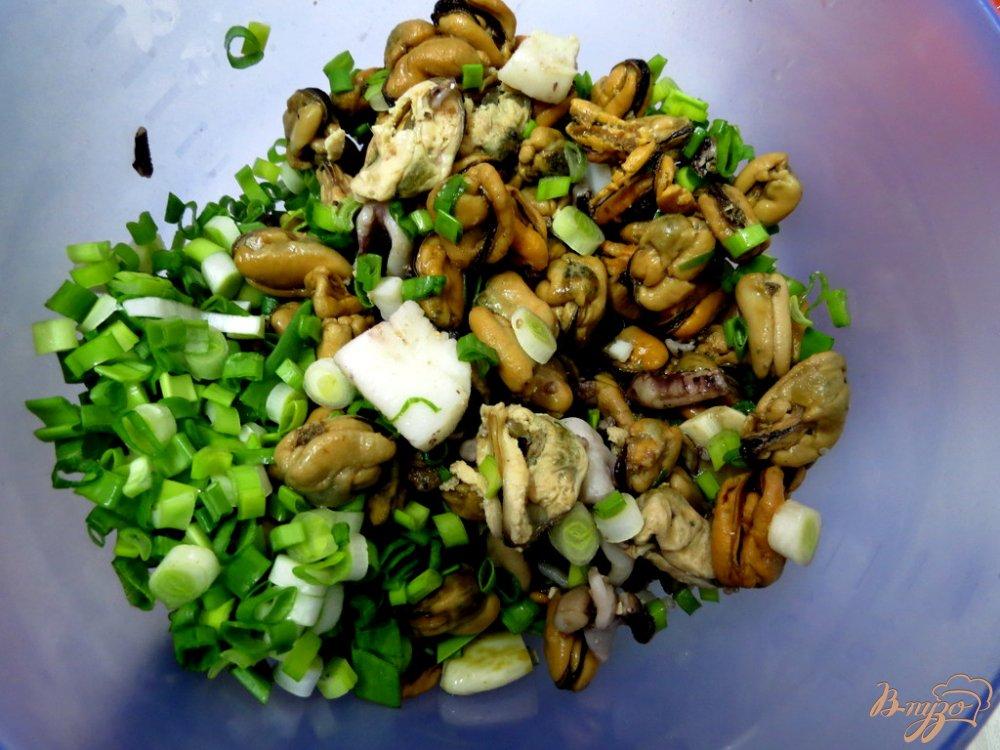 Фото приготовление рецепта: Салат морской шаг №3