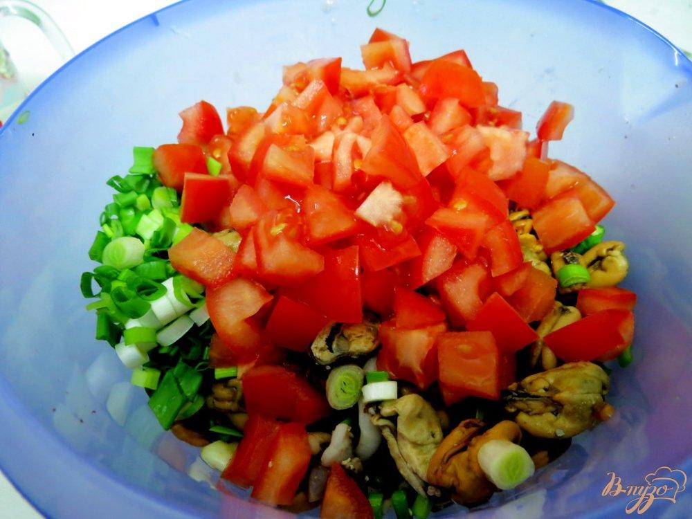 Фото приготовление рецепта: Салат морской шаг №4