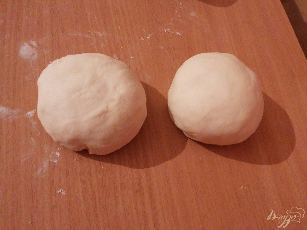Фото приготовление рецепта: Тонкий хинкал с бараниной и томатно-чесночным соусом шаг №6