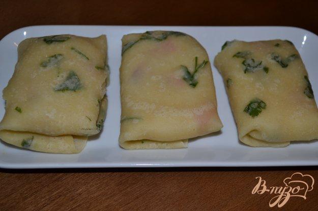 фото рецепта: Постные блины с картофелем и зеленью