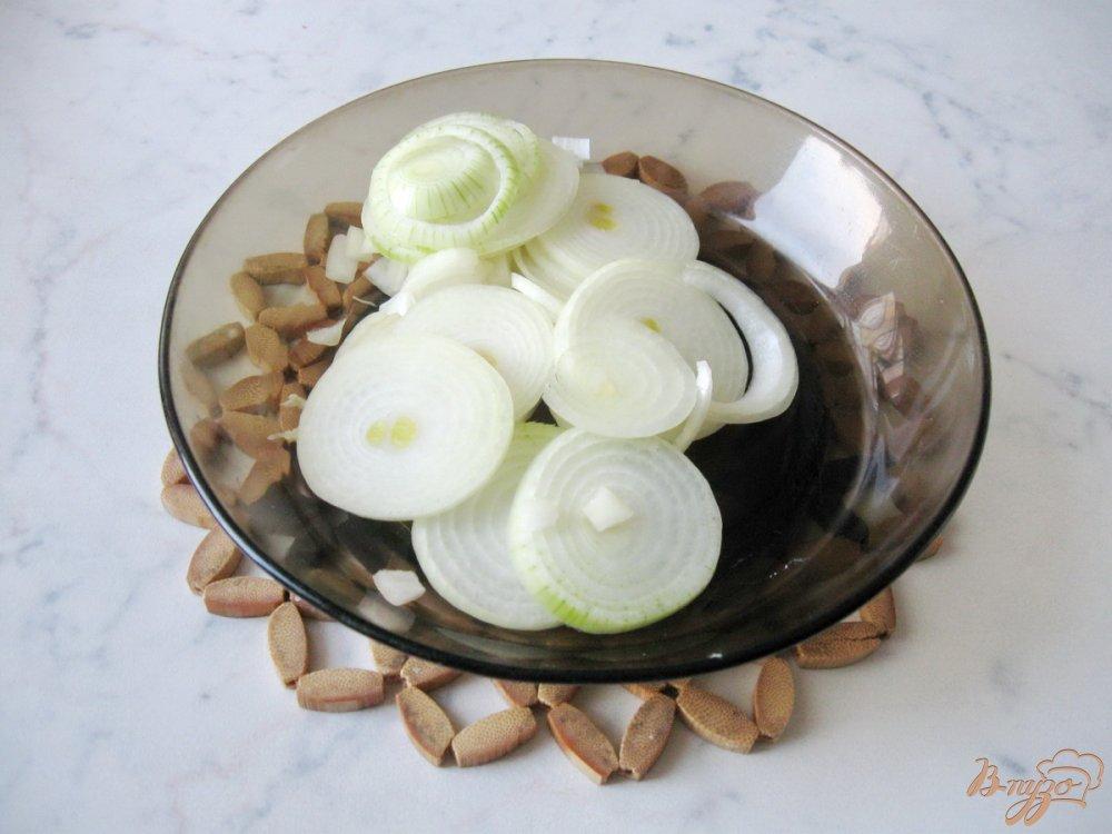Фото приготовление рецепта: Картофель с тыквой в сливках шаг №3