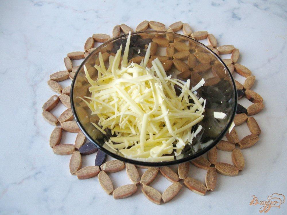 Фото приготовление рецепта: Картофель с тыквой в сливках шаг №6