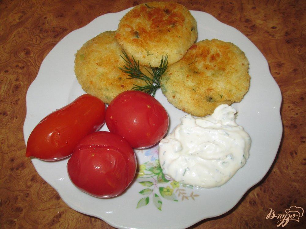 Фото приготовление рецепта: Картофельные котлеты шаг №5