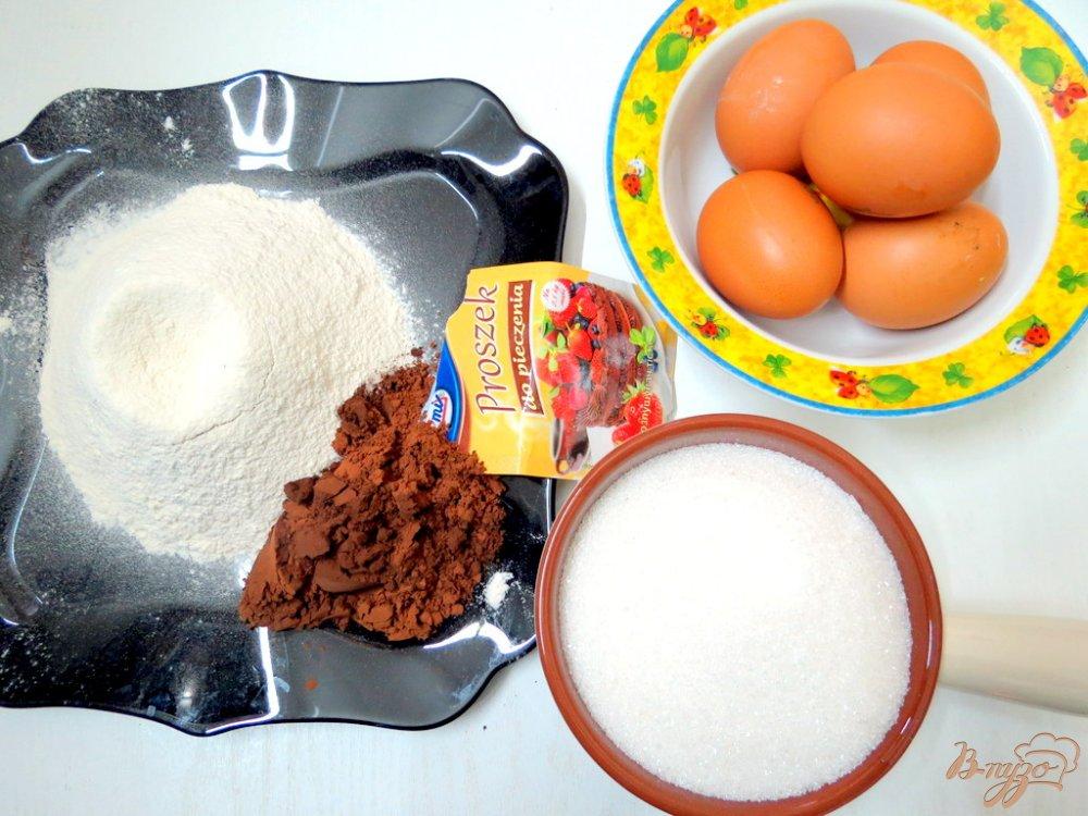 Фото приготовление рецепта: Торт  *Пьяная вишня* шаг №2