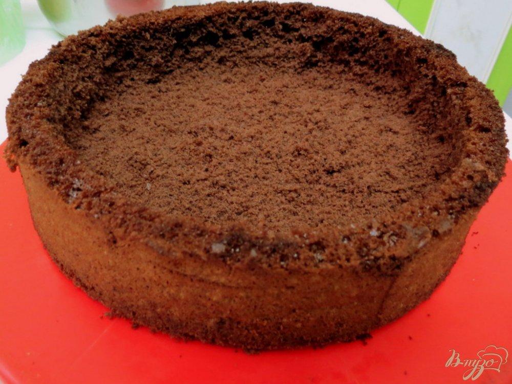 Фото приготовление рецепта: Торт  *Пьяная вишня* шаг №9
