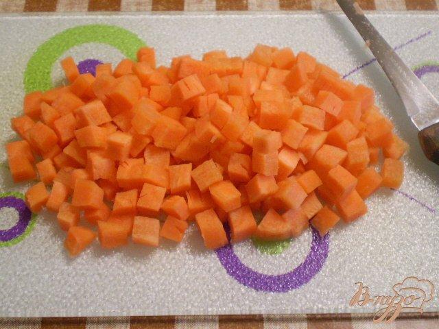 Фото приготовление рецепта: Грибы с овощами в мультиварке шаг №2