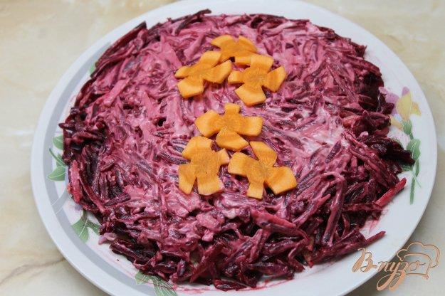 салат с печенкой свиной рецепт с фото