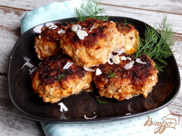 фото рецепта: Ленивые голубцы со свининой, кускусом и грибами