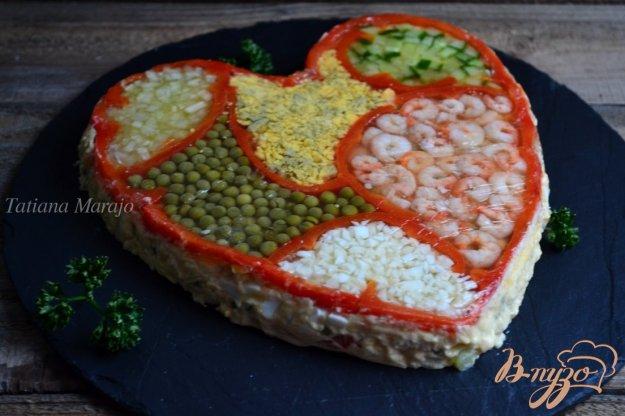 фото рецепта: Салат с креветками