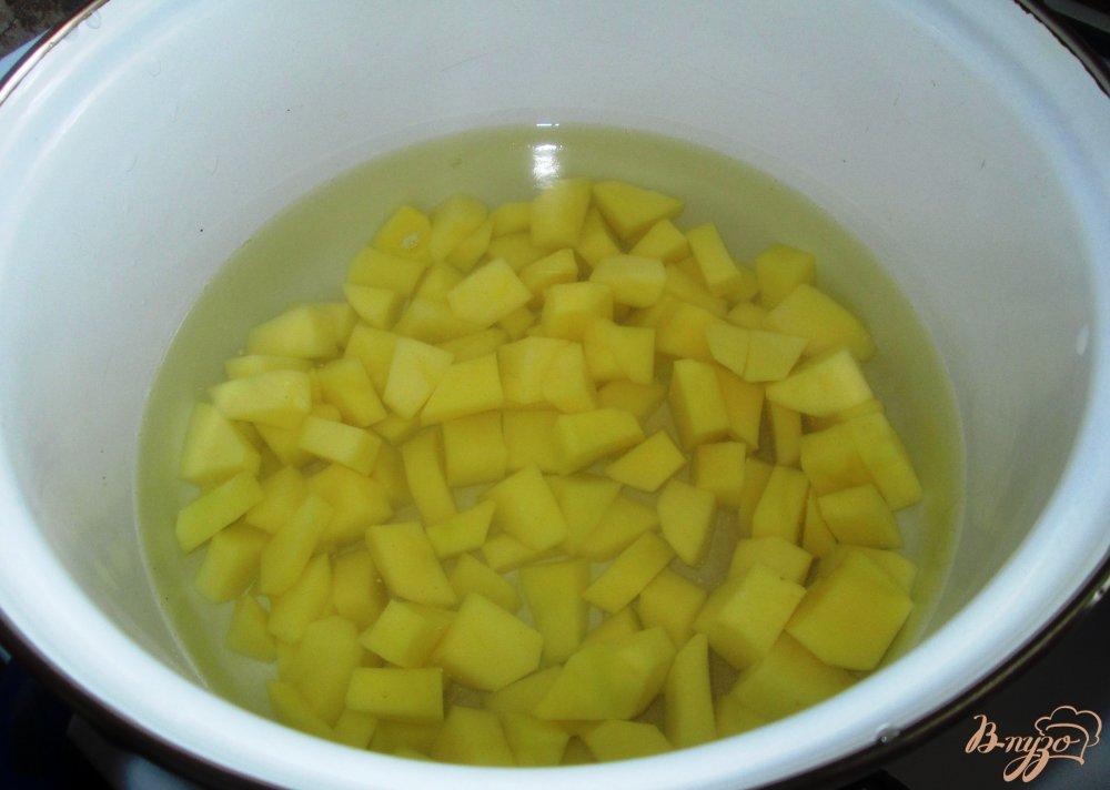 Фото приготовление рецепта: Суп из шампиньонов с лапшой шаг №2