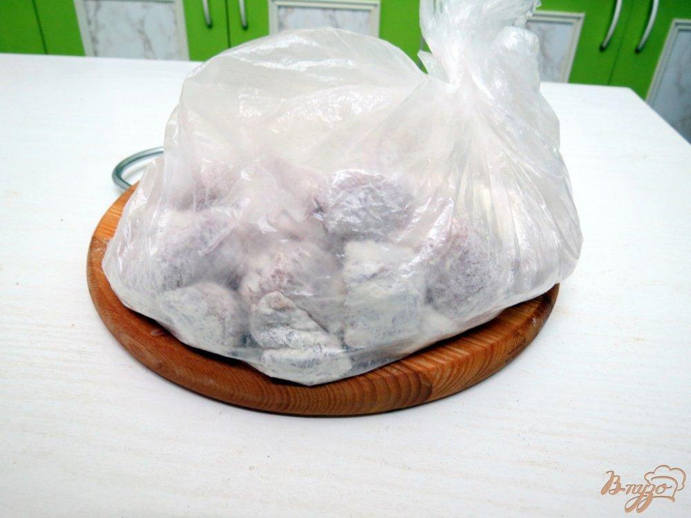 Фото приготовление рецепта: Фасоль со свининой шаг №3