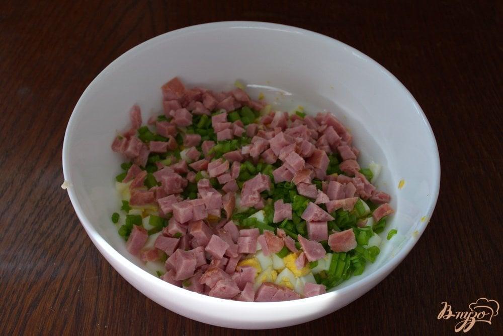 Рецепт сытного салата на скорую руку