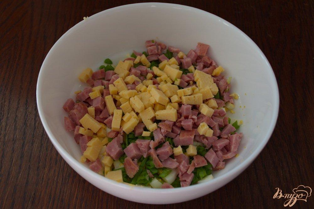 Салат на скорую руку с колбасой рецепты с