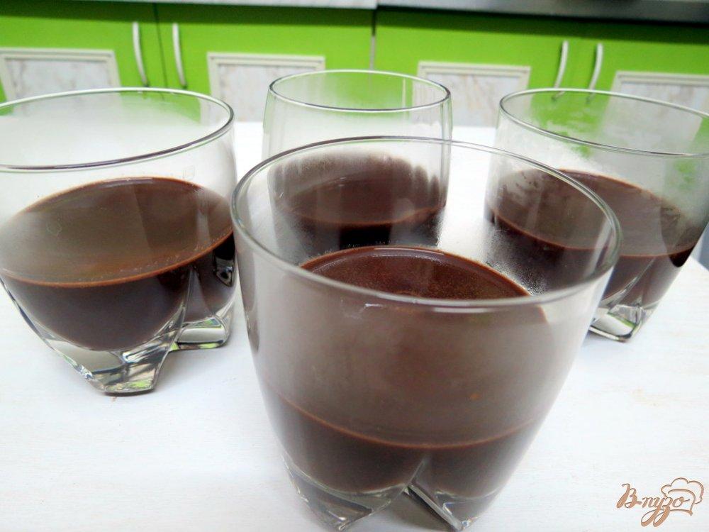 Фото приготовление рецепта: Желе молочно-кофейное шаг №5